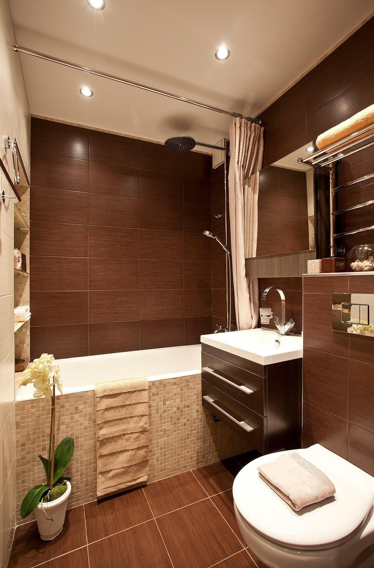 Фото интерьеров квартир интерьер ванных комнат 15 фотография
