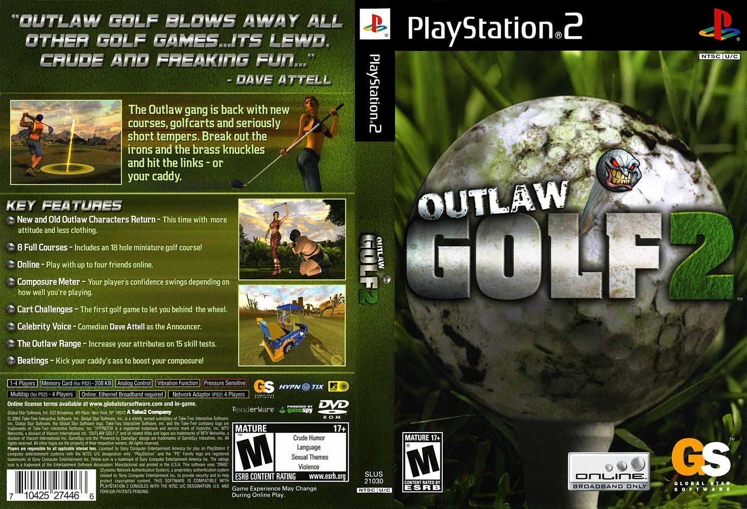 Outlaw golf 2 girls nude sex pic