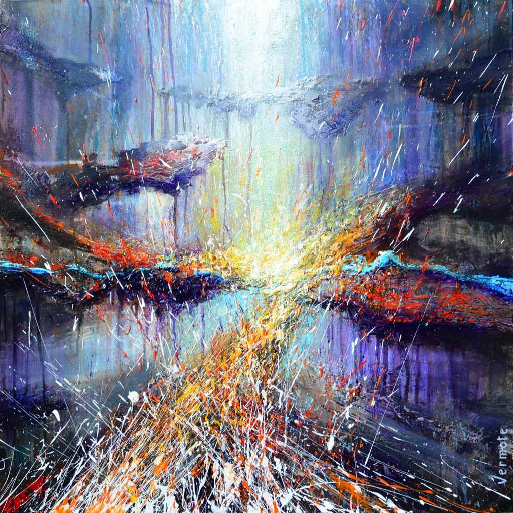 Artiste peintre abstrait lyrique bernard vermote for Peintres abstraits