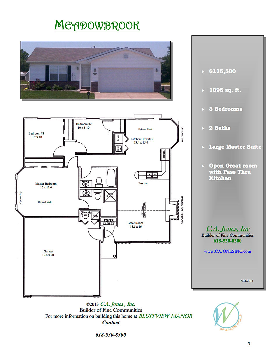 c a jones inc welcome to a new experience in home building