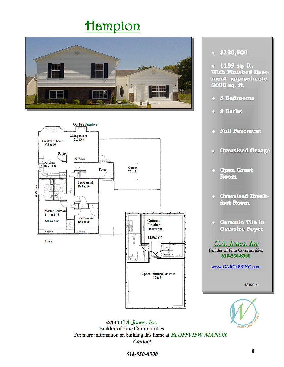 c a jones inc welcome to a new experience in home building bluffview manor 6 hampton jpg