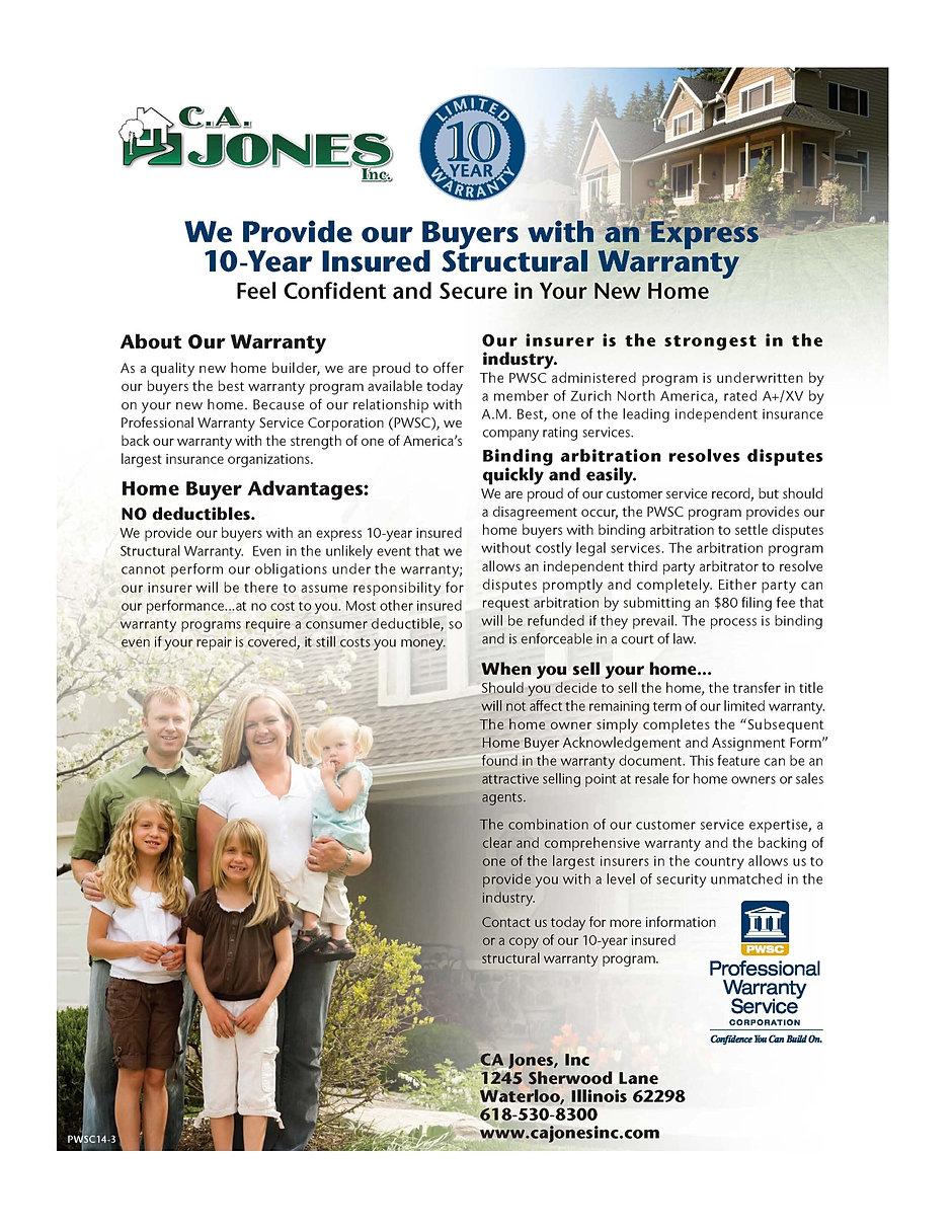 Tuscany Ridge Traditional Line Brochure Page 02