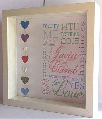 2250 - Engagement Picture Frames
