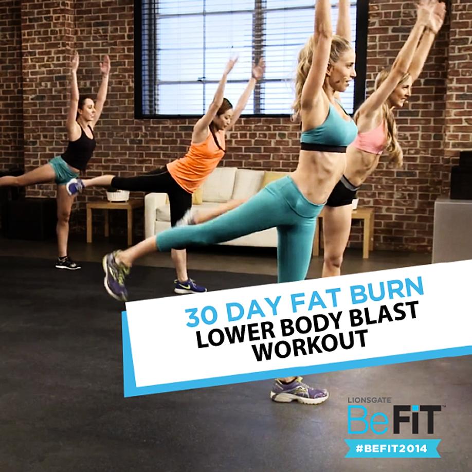 Lower Body Blast Workout