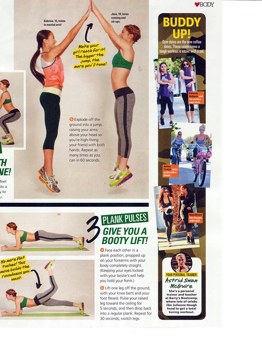Seventeen workout page 2