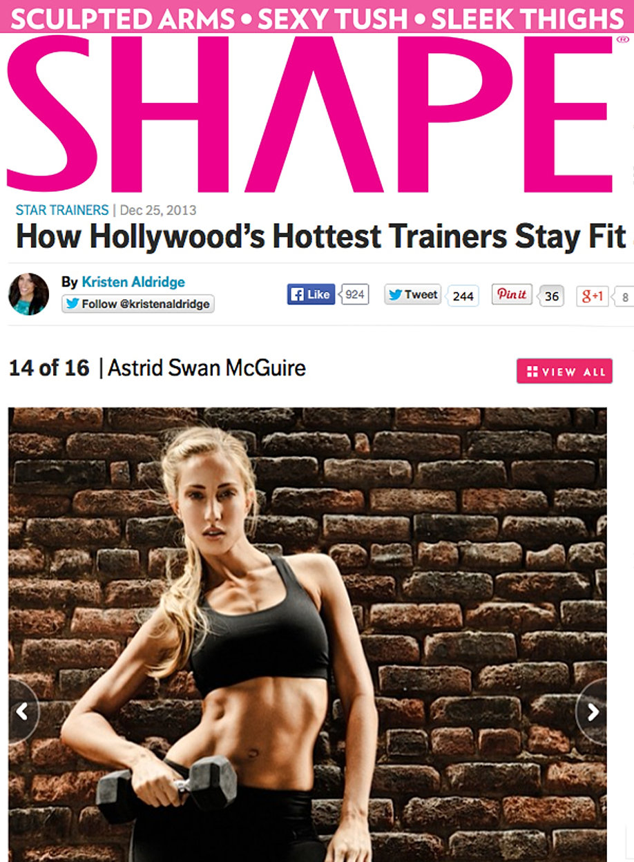 How Hollywood's Trainers Stay Fit