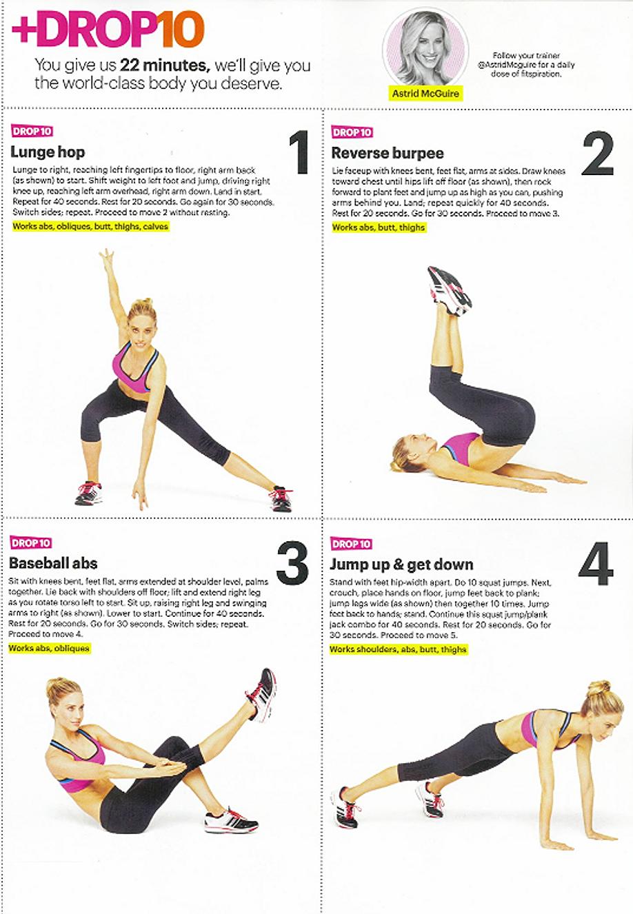 +Drop10 routine, part 1