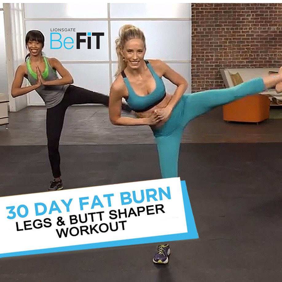 Legs and Butt Shaper Workout