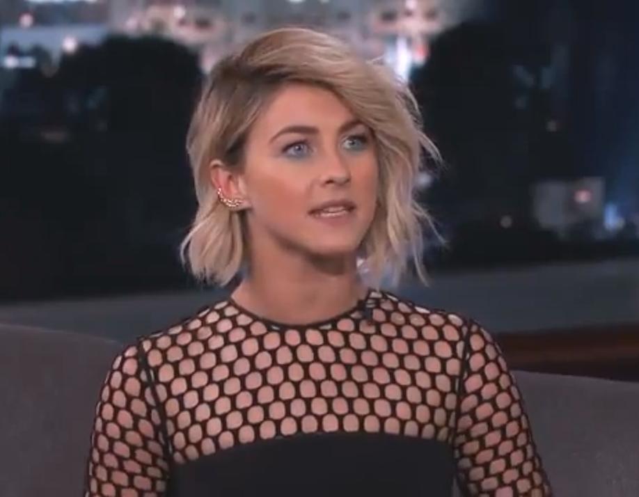 Julianne Hough on Jimmy Kimmel