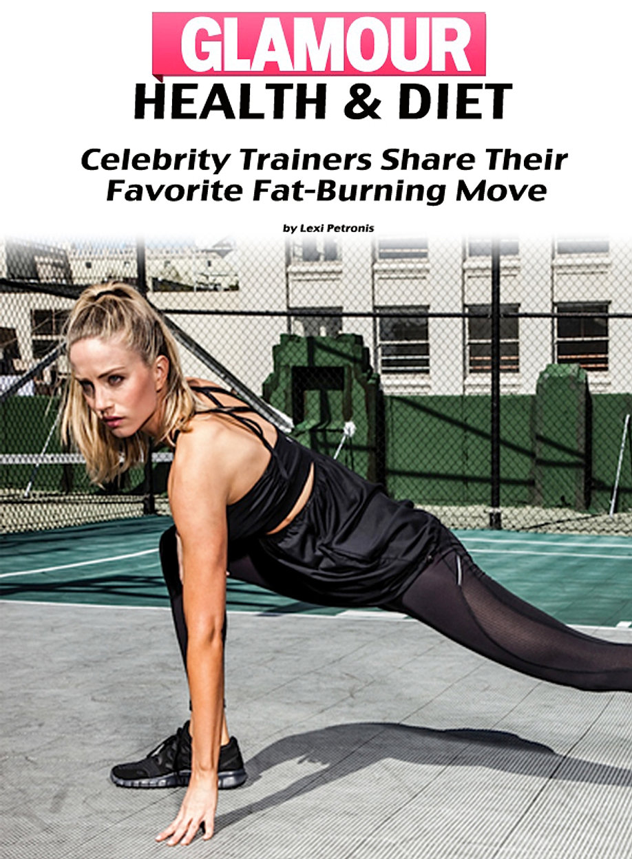 Celebrity Trainers Share Their Moves