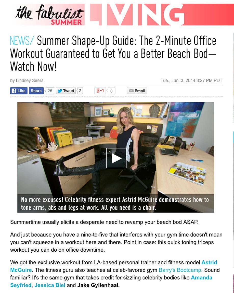 Summer Shape-Up Guide