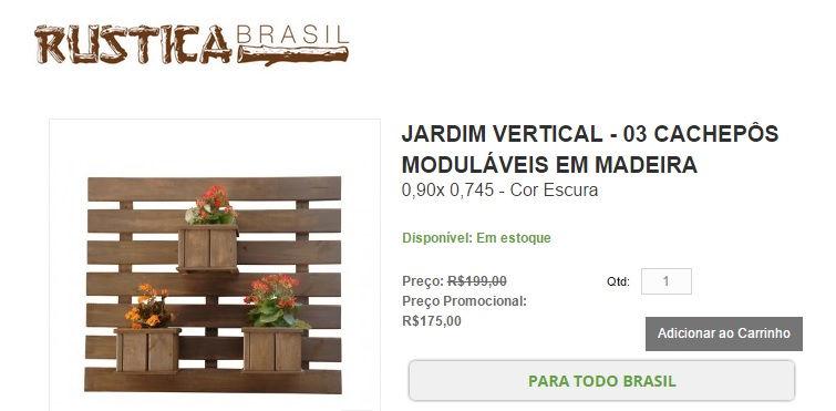 Onde comprar, acessórios para jardim vertical