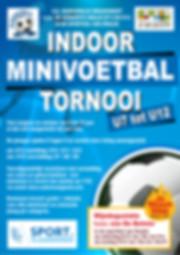 affiche INDOOR MINIVOETBALTORNOOI 2018-1