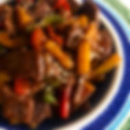 Sweet & Sour Beef Strips