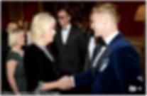 Duchess of Cornwall meets Ronan Keating