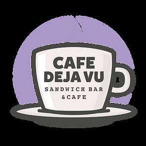 Cafe Deja Vu Logo NO Background