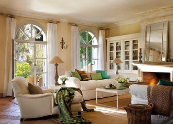Salones con encanto mgc dise o de interiores - Interiores con encanto ...
