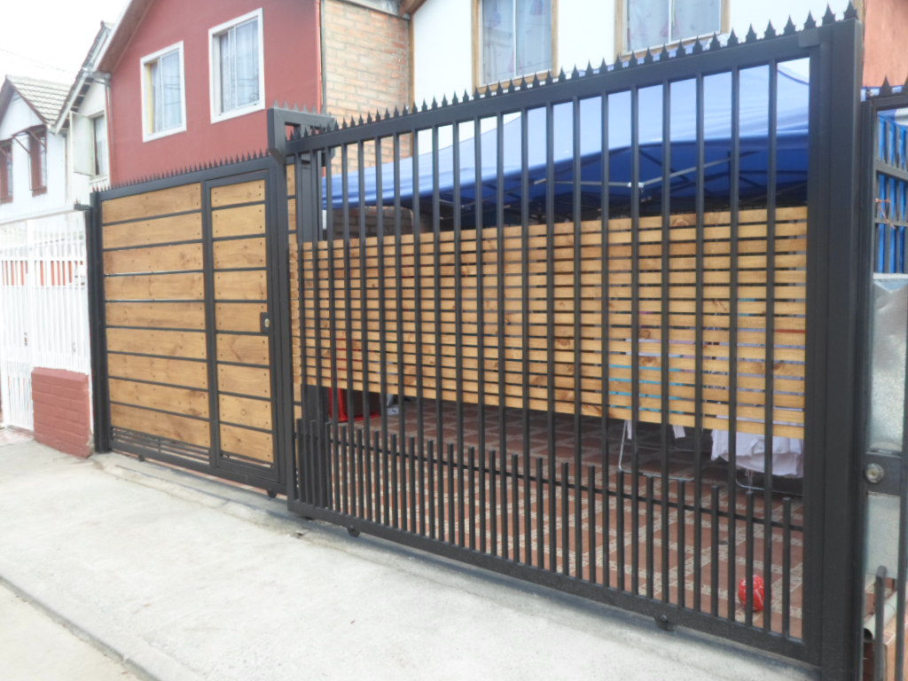 Rejas de madera perfect puerta de frente de madera - Rejas de madera ...