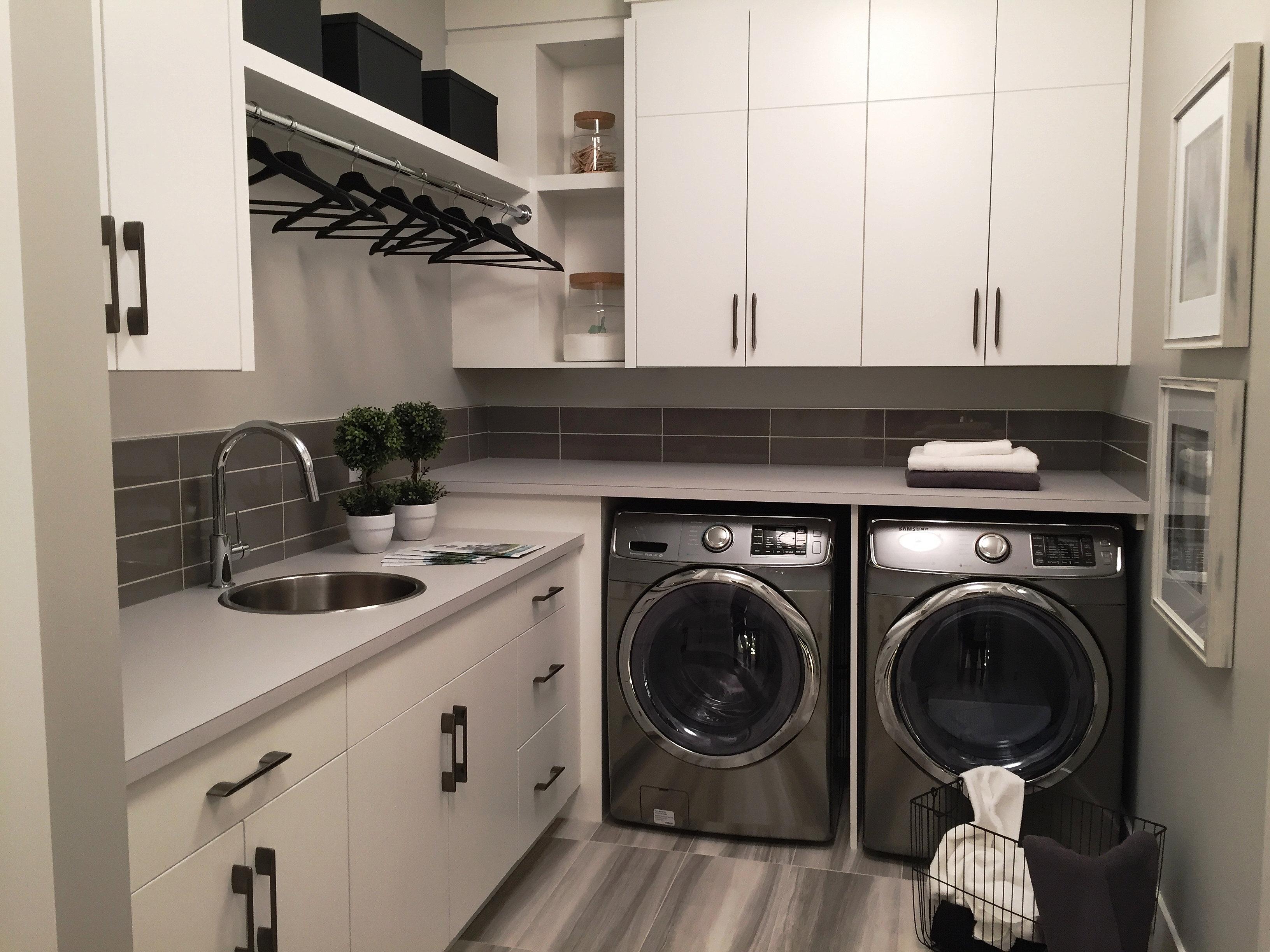 Calgary Custom Cabinets, Closets and Carpentry | laundry ...