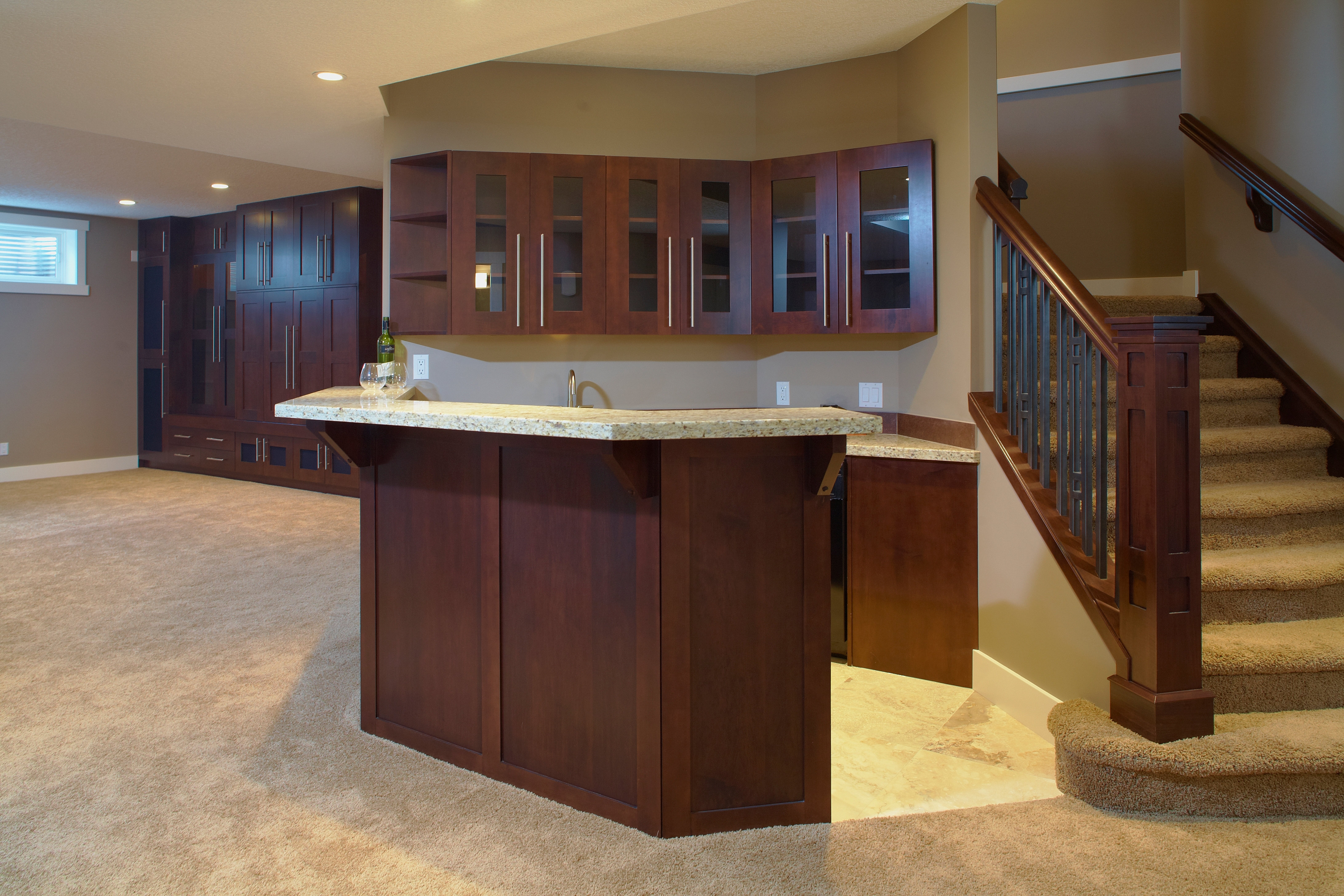 calgary custom cabinetry and closet solutions basement renovations