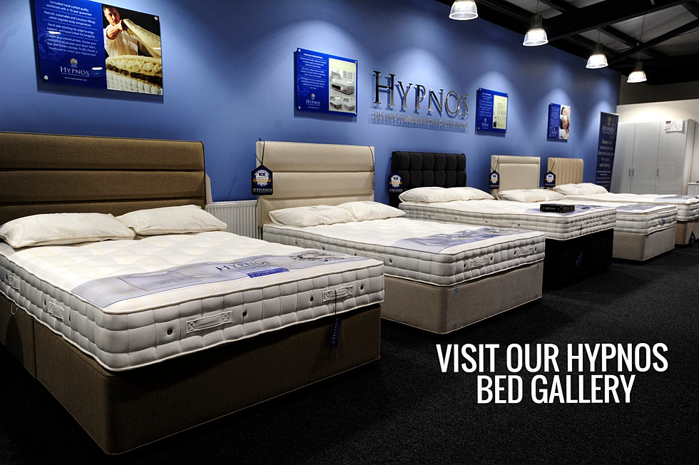 We Are Are Premium Stockist Of Hypnos Beds In The West Yorkshire Area With A Full Bed Gallery In Our Keighley Showroom