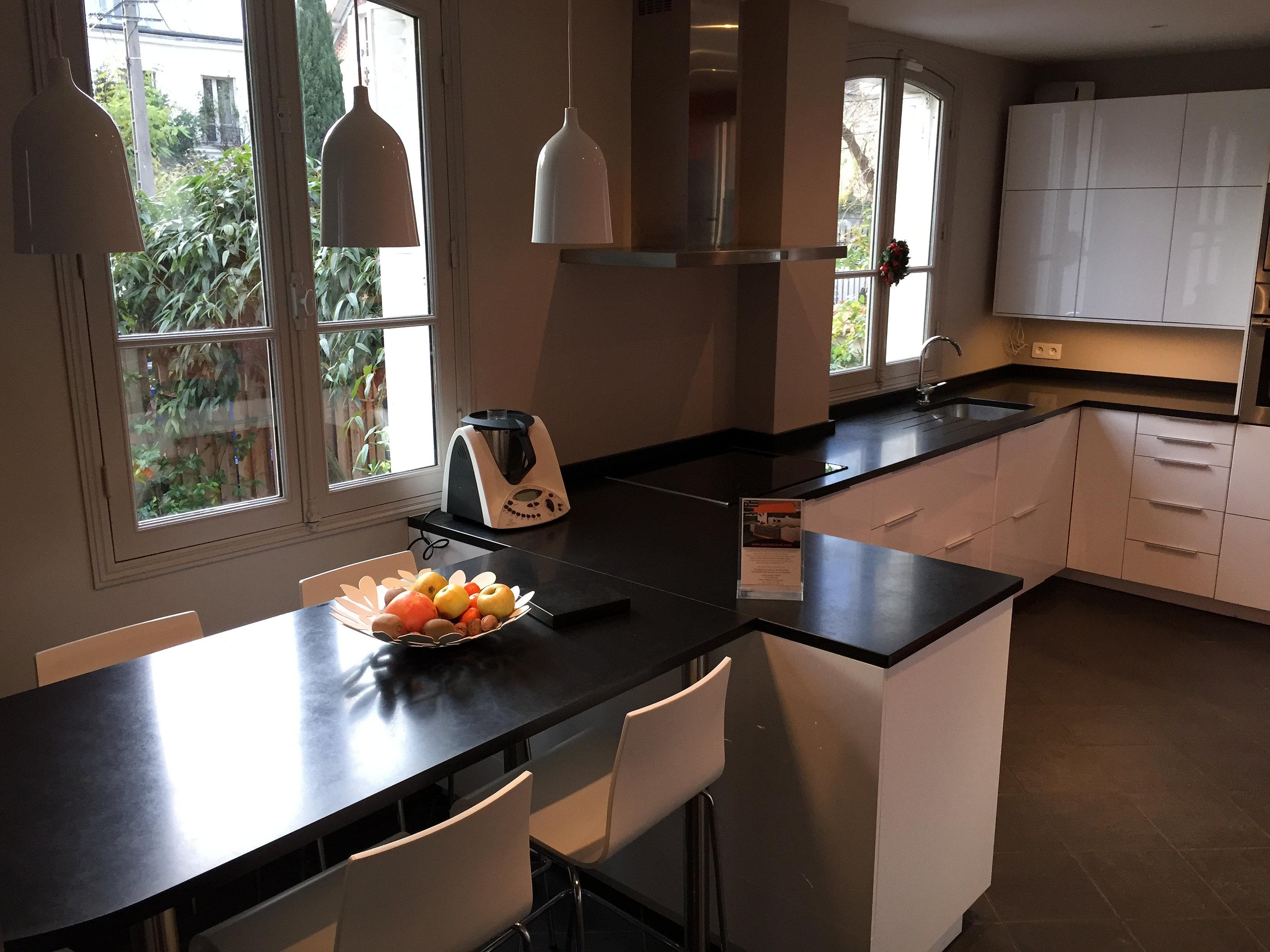 Plan De Travail Granit Quartz Table En Mabre Paris