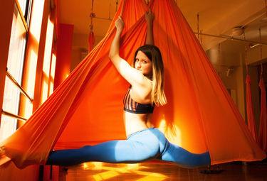 aerial yoga conditioning