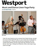 """Music and Dance Liven Yoga Party"""