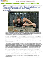 """Yoga and Cleanses"