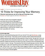 """10 Tricks to Improving Your Memory"""