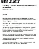 """""""Kaia to expand to Westport"""""""