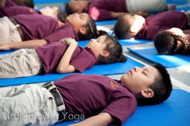 little flower kids yoga