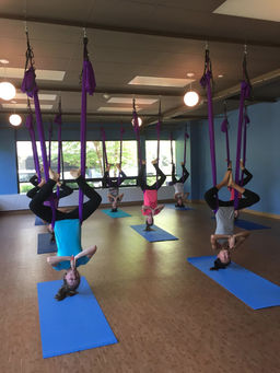 aerial yoga summer camp
