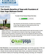 """The Health Benefits of Yoga"