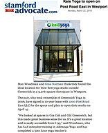 """""""Kaia Yoga to Open on Post Road"""""""