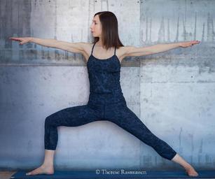 yoga at the wall