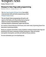 """Westport Adds Programming"""