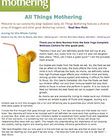 """""""Juicing for the Whole Family"""""""