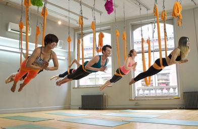 aerial yoga training