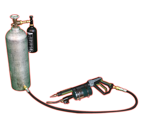 how to build flame thrower