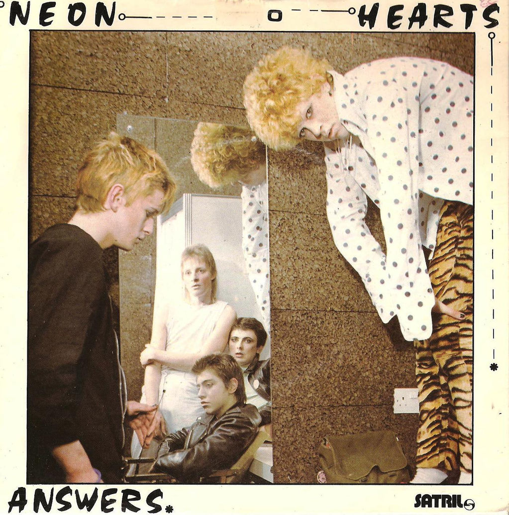 Neon Hearts Regulations Neon Hearts Answers Front
