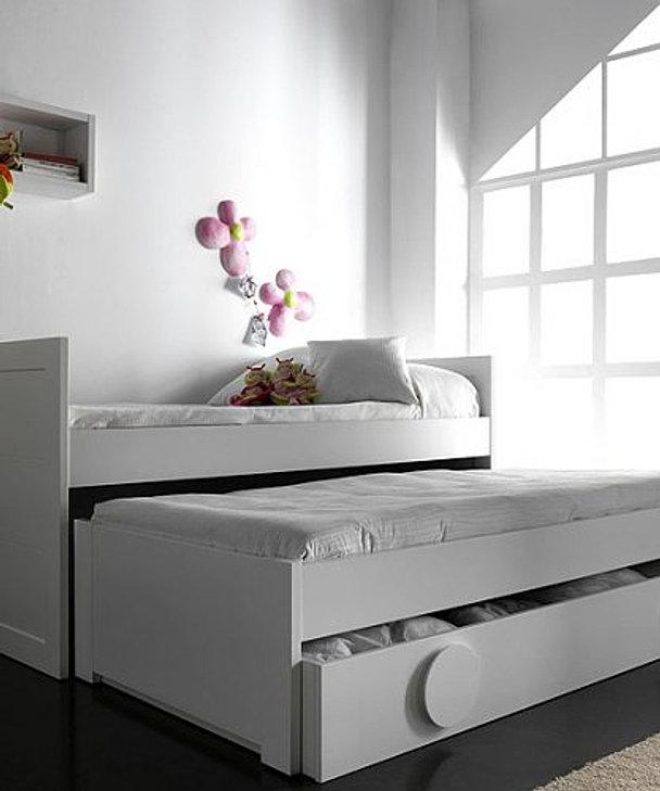 Icavira proyectos fabricantes de muebles personalizados - Cama nido triple ...