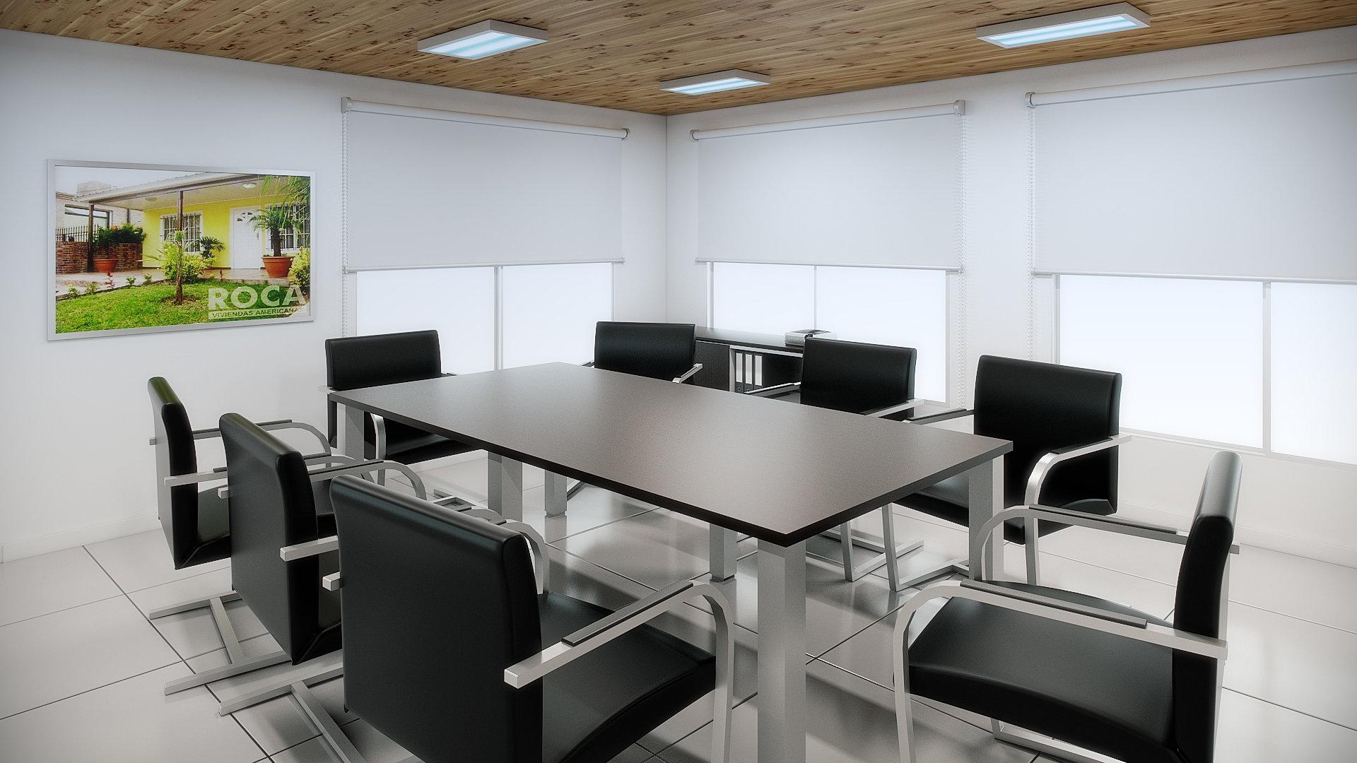 Arq corporativa sala de reuni n for Arquitectura de oficinas modernas