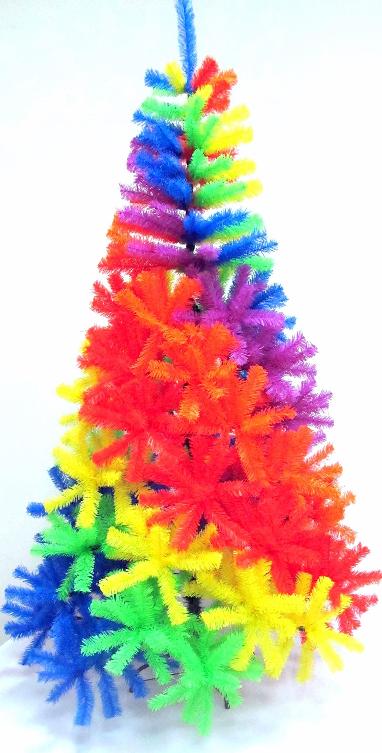 tie dye christmas tree -#main