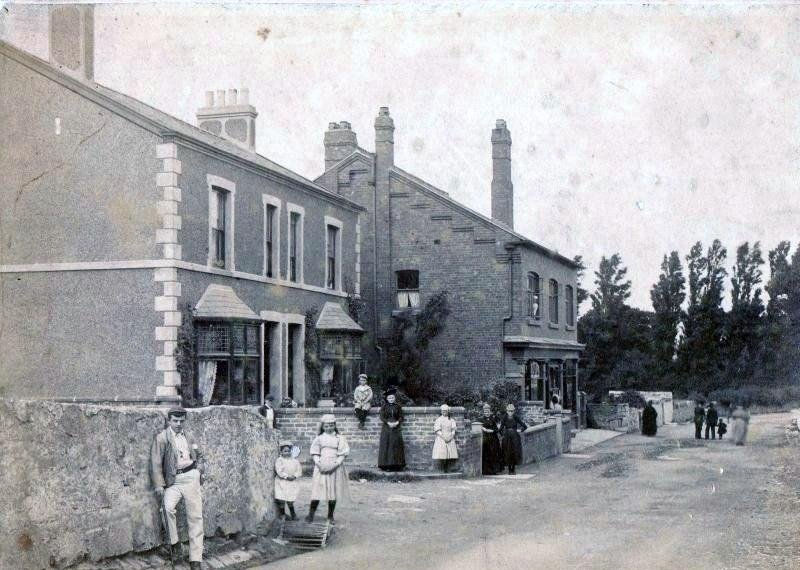 Middle Of High Street - 1880