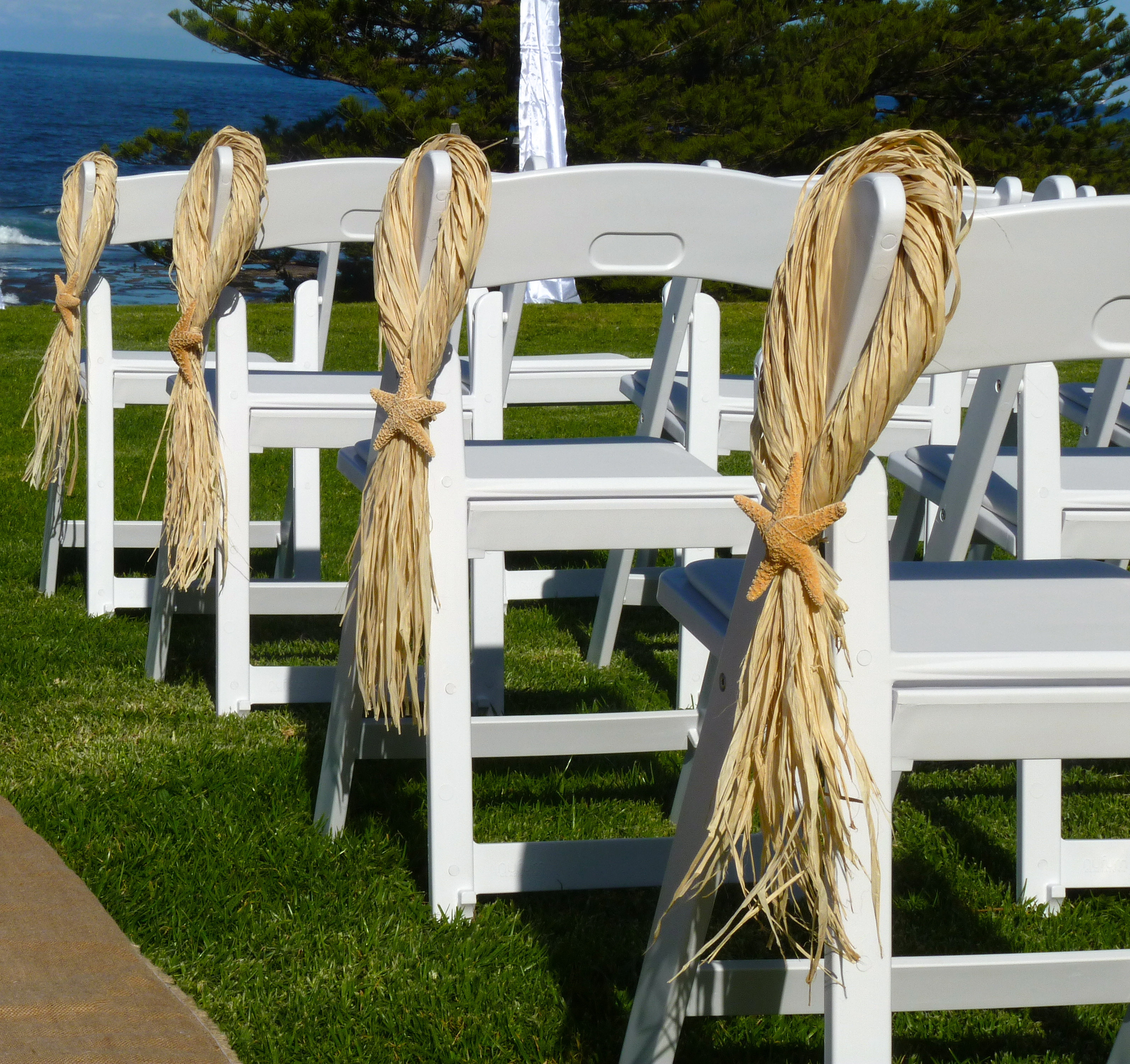 Chair Decorations For Wedding Ceremony