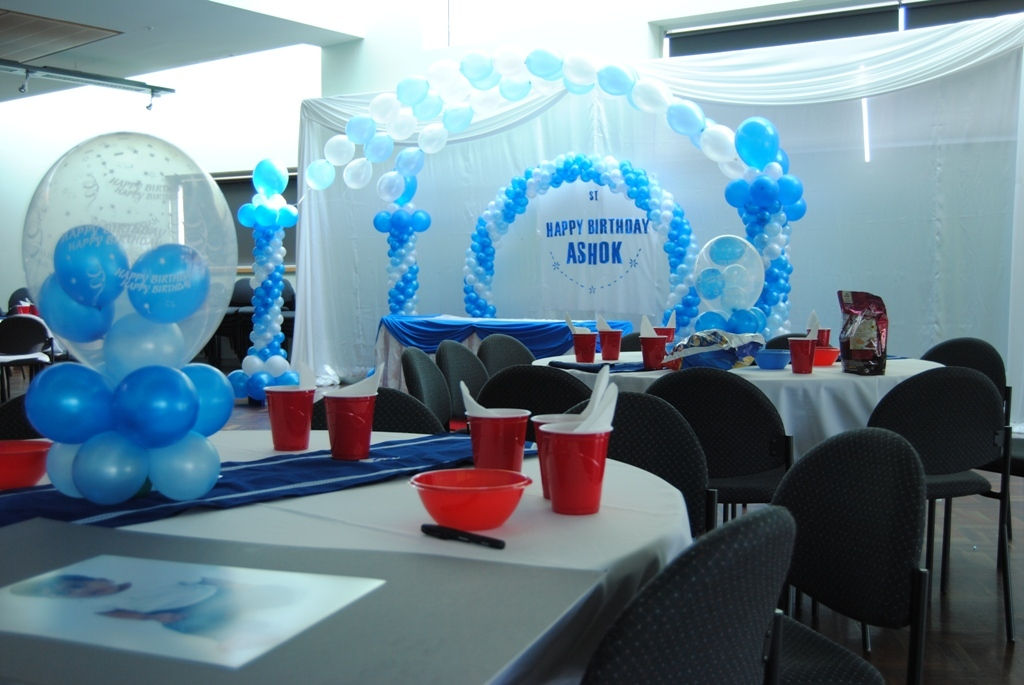 Wedding planner wedding decorations melbourne reception for Balloon decoration for first birthday