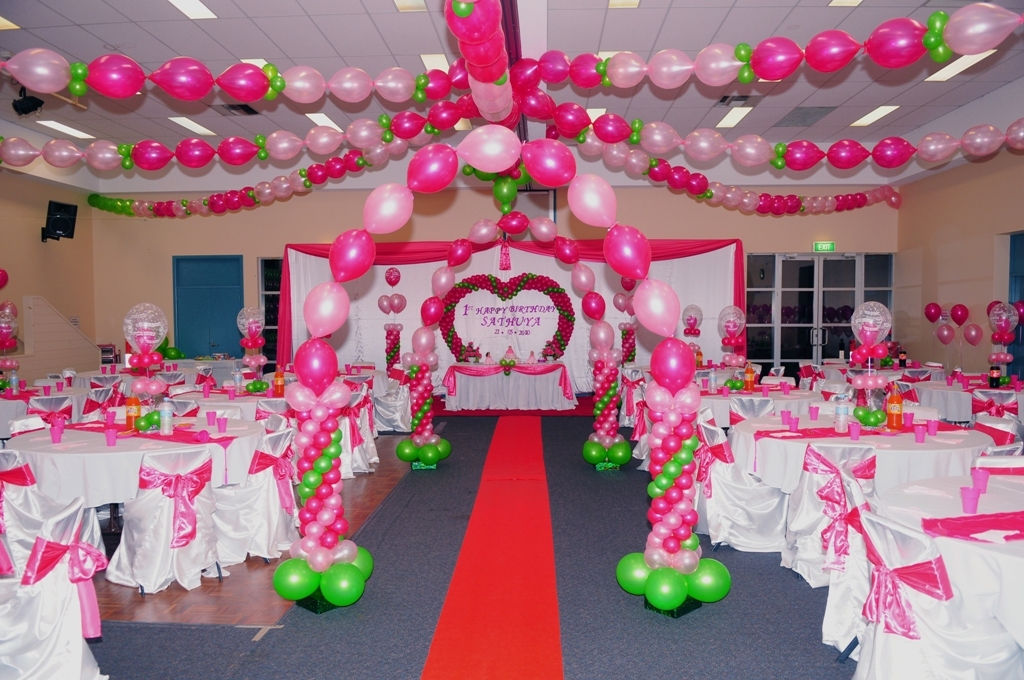 Sands event specialists for 1 birthday decoration images