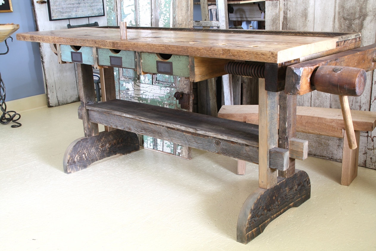 Table by Wood & Tique (sold)