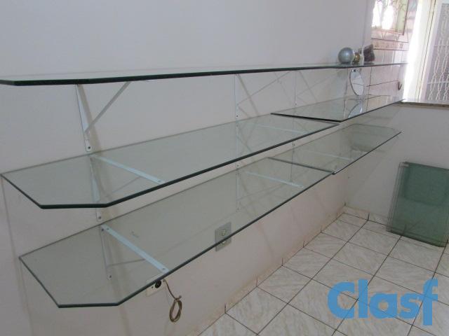 Estante De Vidro Temperado : Prateleira de vidro temperado para sala: melhores imagens de